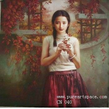china oil painting